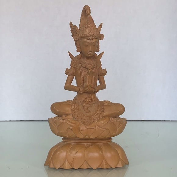 Tantra Gallery Other - Tantra Gallery Mas Bali hand carved wood statue